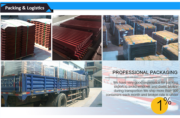 Selected building material steel roofing ridge tile