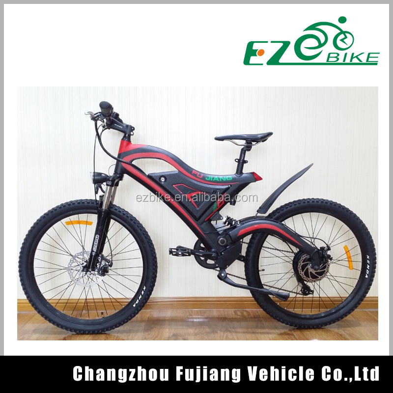 2017 colorful Powerful Mountain Electric Bicycle/ E Bike