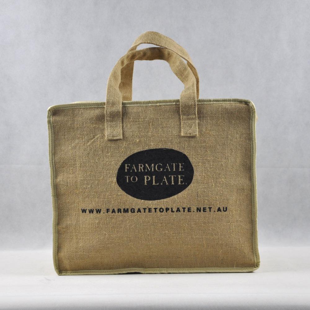 Bolsa de yutearpillera bolsas de tela de arpillera de yutebolsas de tela de yute Bolsos de mano Identificación del