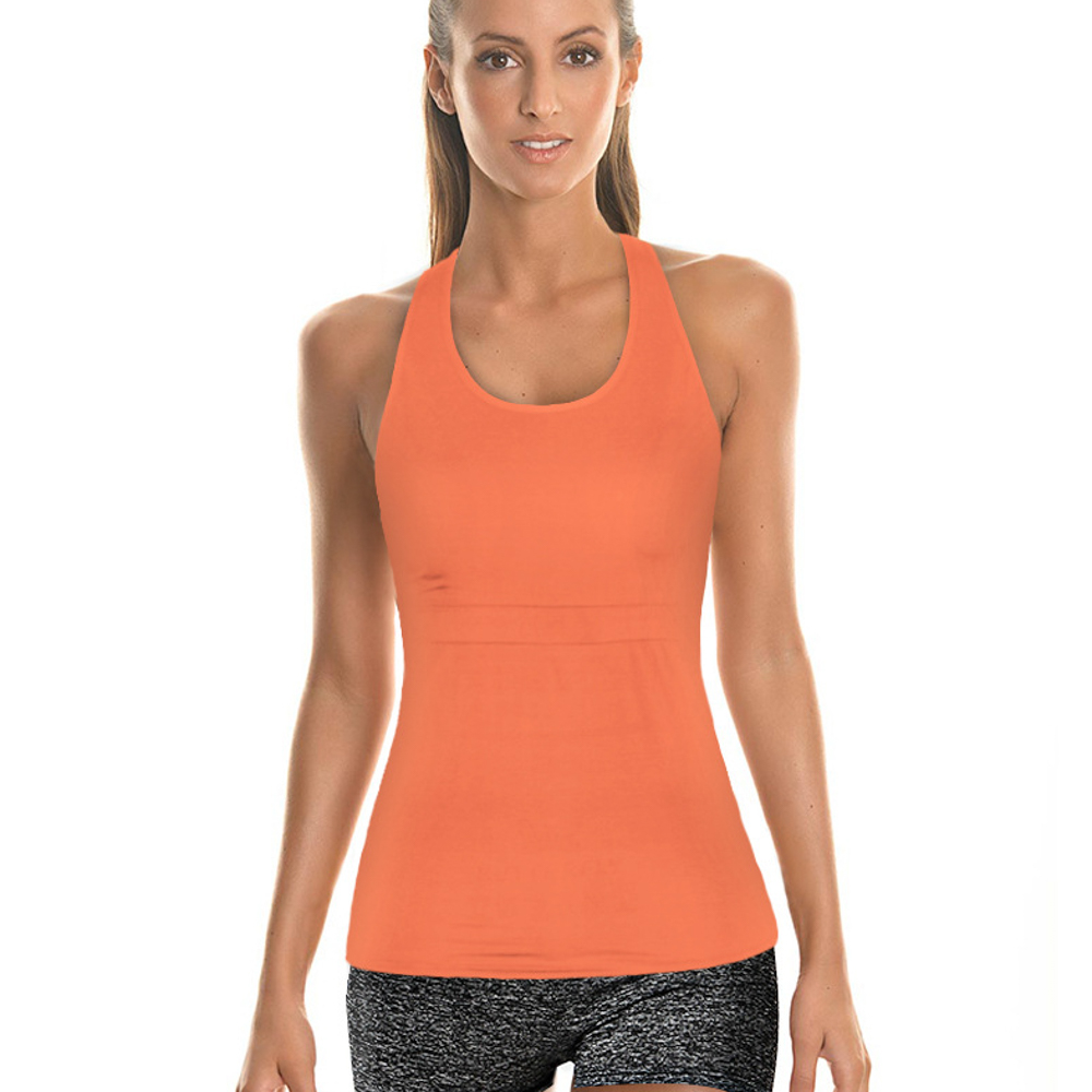 smooth super soft undergarment fitness stringer tights lycre yoga tank top for women trainning