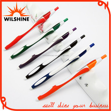 Two Tone Injection Ball Point Pen, Plastic Ballpoint Pen (BP0036)