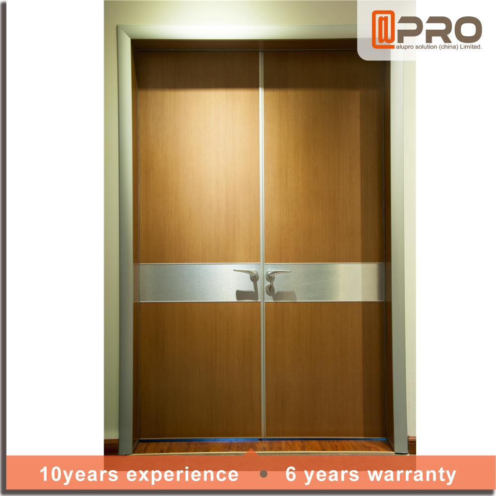 New door designs double swing hospital doors interior door made in china