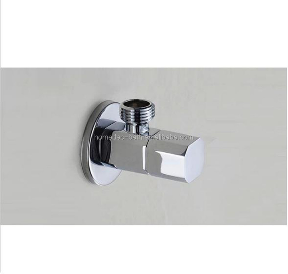 Bathroom Accessories Chrome Bathroom Parts Square Filling Valves ...