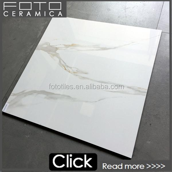 Non rectifi blanc brillant carrelage carreaux de marbre for Carrelage marbre blanc brillant