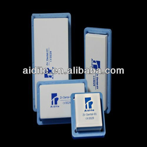 Dental supplier / Cercon dental zirconia blocks with USB