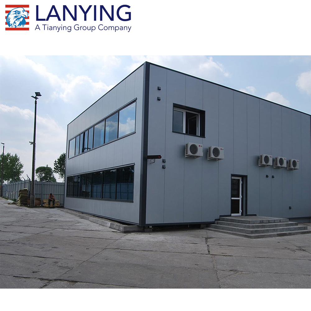 low cost prefabricated steel building prefab steel structure warehouse / workshop / office