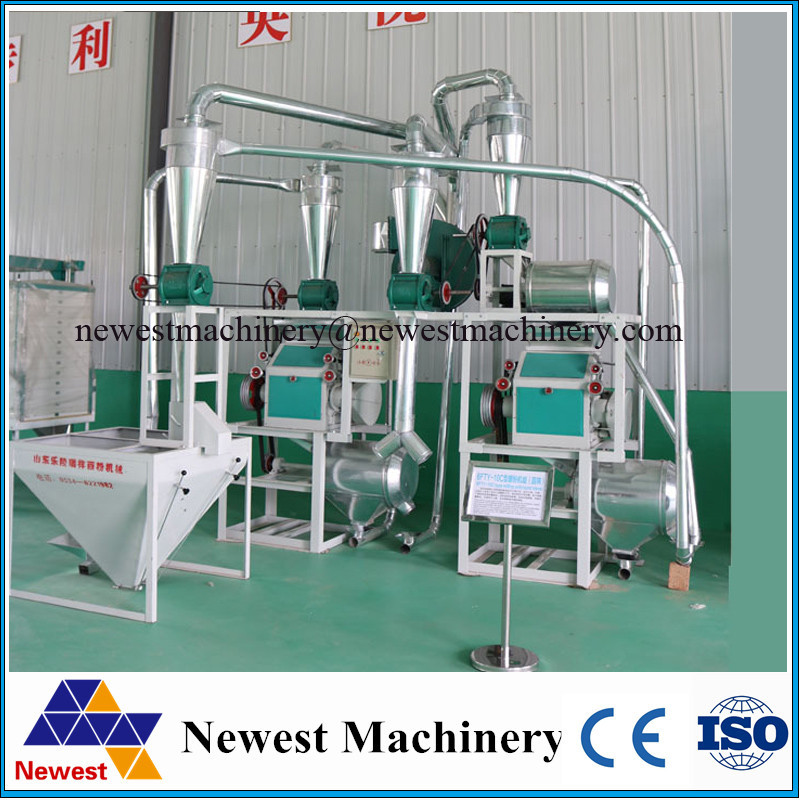 Professional roller type and stone mill small flour milling machine,wheat flour mill price