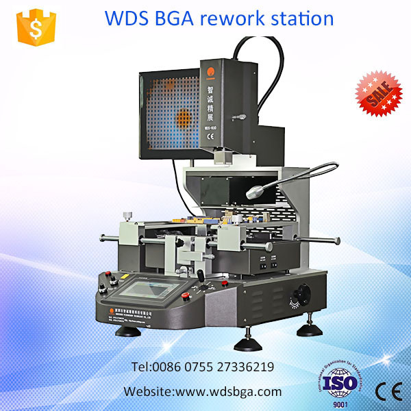 Selective soldering machine WDS-600 BGA rework automatic pcb soldering machine for ps4 galaxy s6 motherboard