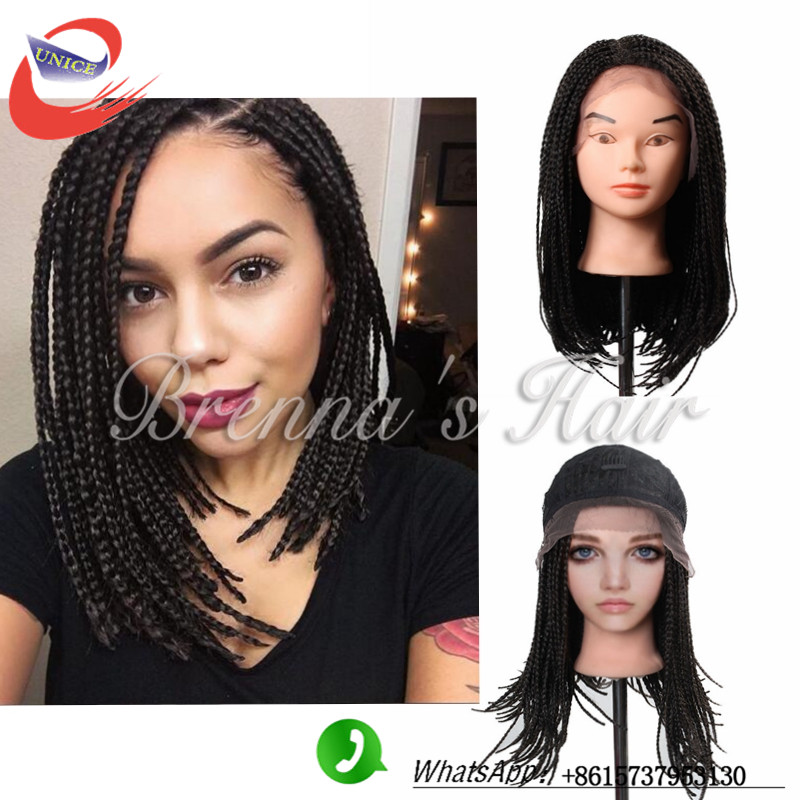 Synthetic lace front women wig Black wigs for black women 14 inch short wigs for pelucas pelo natural perruque