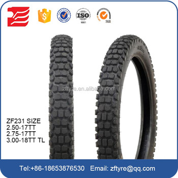 Classic Colored Racing Motorcycle Tyres 275 17 Size Made In China