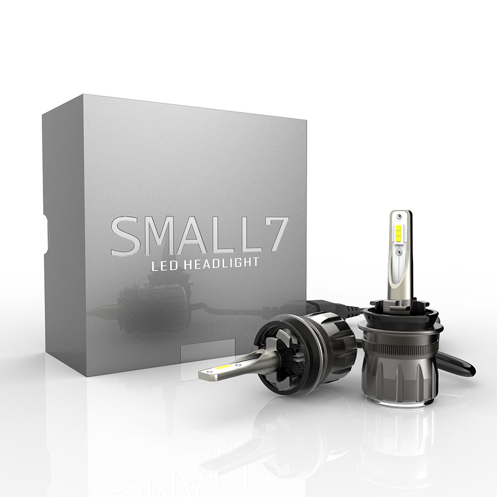 Factory wholesale Newest Smallest S7 Canbus car autozone led headlight bulbs 9005 h4 h7  9006 h11 h3 led fog light