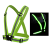 4cm100% polyester safety vest belt / roadway security jacket reflective strips for walker