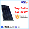 150W Poly Solar Panel Price for Solar home use power generation system