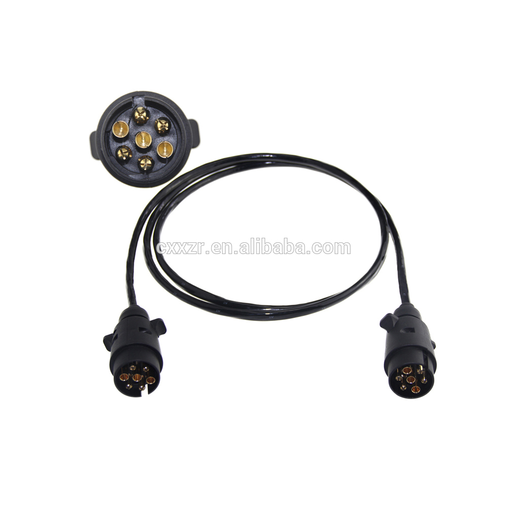 7 Cable Wires Car Trailer Power Xzrt007 Coiled Wire How To A 12v Buy Wirescar Cabletrailer