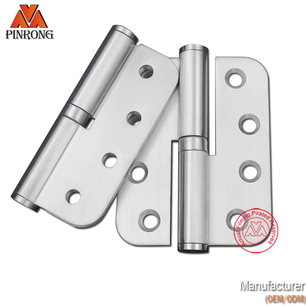 Detachable H round corner circular door hinge