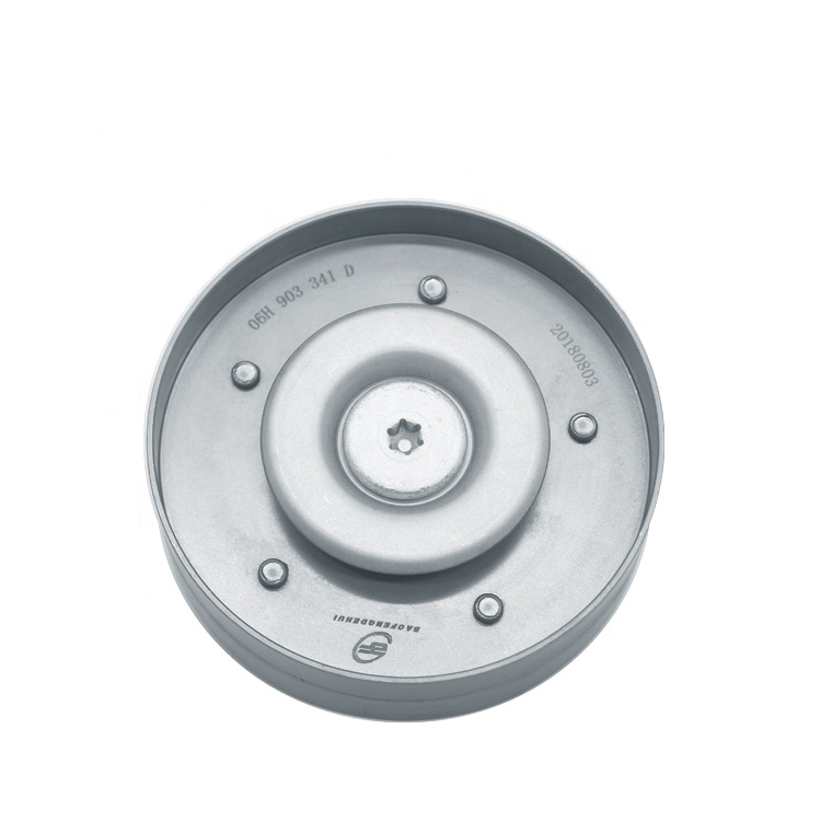 AUDI A4 A5 A6 A7 A8 Fan Belt Tensioner Pulley Ribbed Belt Idler V