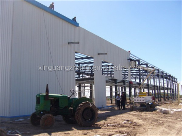 fast installation professional steel warehouse shed