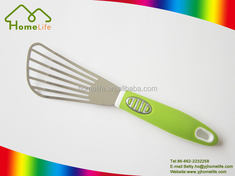 High quality kitchen tools stainless steel fry egg spatula/shove/turner