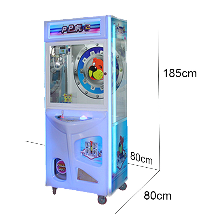 Hot Sale Coin Operated Claw Crane Game Machine Toys Games ...