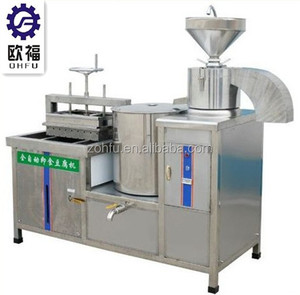 Bean tofu producing machine tofu soya milk making equipment
