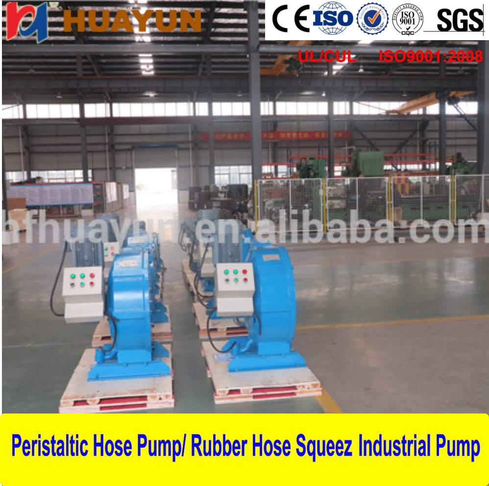 Electric Portable Vegetable Oil Transfer Hose Pump Hose Squeezy Lime, Slurry Concrete Pumping for Industrials High quality Peris