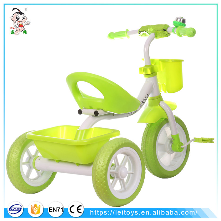 Cheap baby tricycle Tianjin raw materials children trike ride cars kids for 4 years old