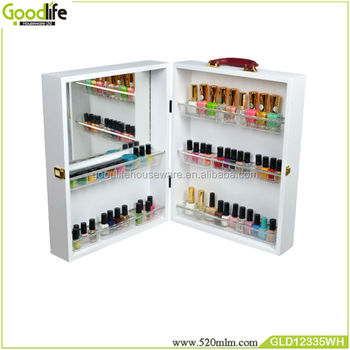 Portable wooden box for storage nail polish wholesale from goodlife & Portable Wooden Box For Storage Nail Polish Wholesale From Goodlife ...