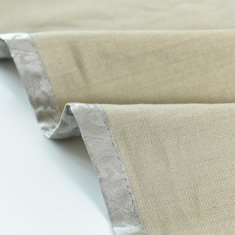 Conductive Silver Fiber Cotton Bed Sheet For link to Earth and EMI Shielding