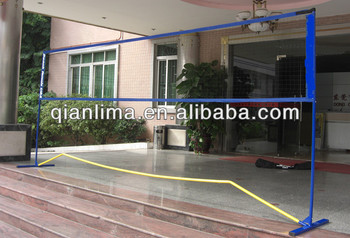 indoor portable volleyball nets, View standard volleyball net, Qian ...