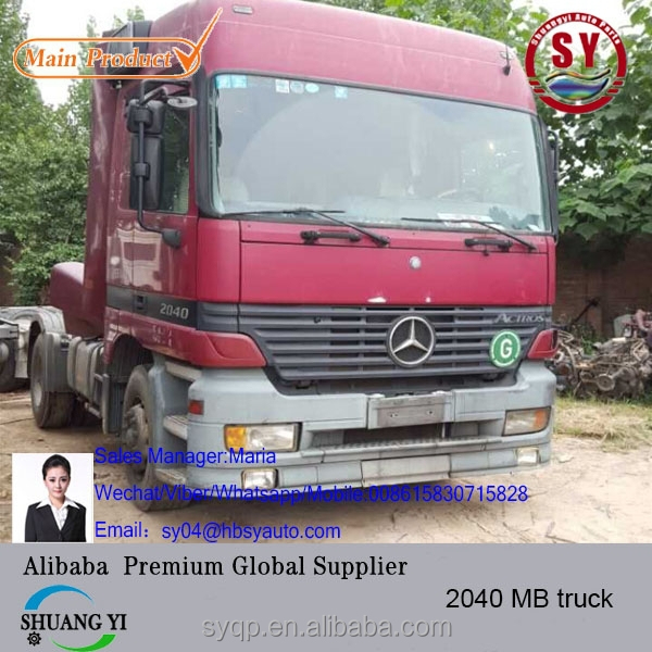 used mer cedes truck MB 2040 in germany 5 pcs in stock