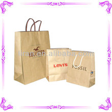 Hot selling kraft paper bag and brown paper bag & brown kraft paper bag with clear window wholesale