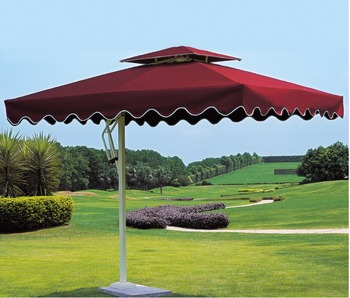 Outdoor Patio Umbrella Parasols With Fringe