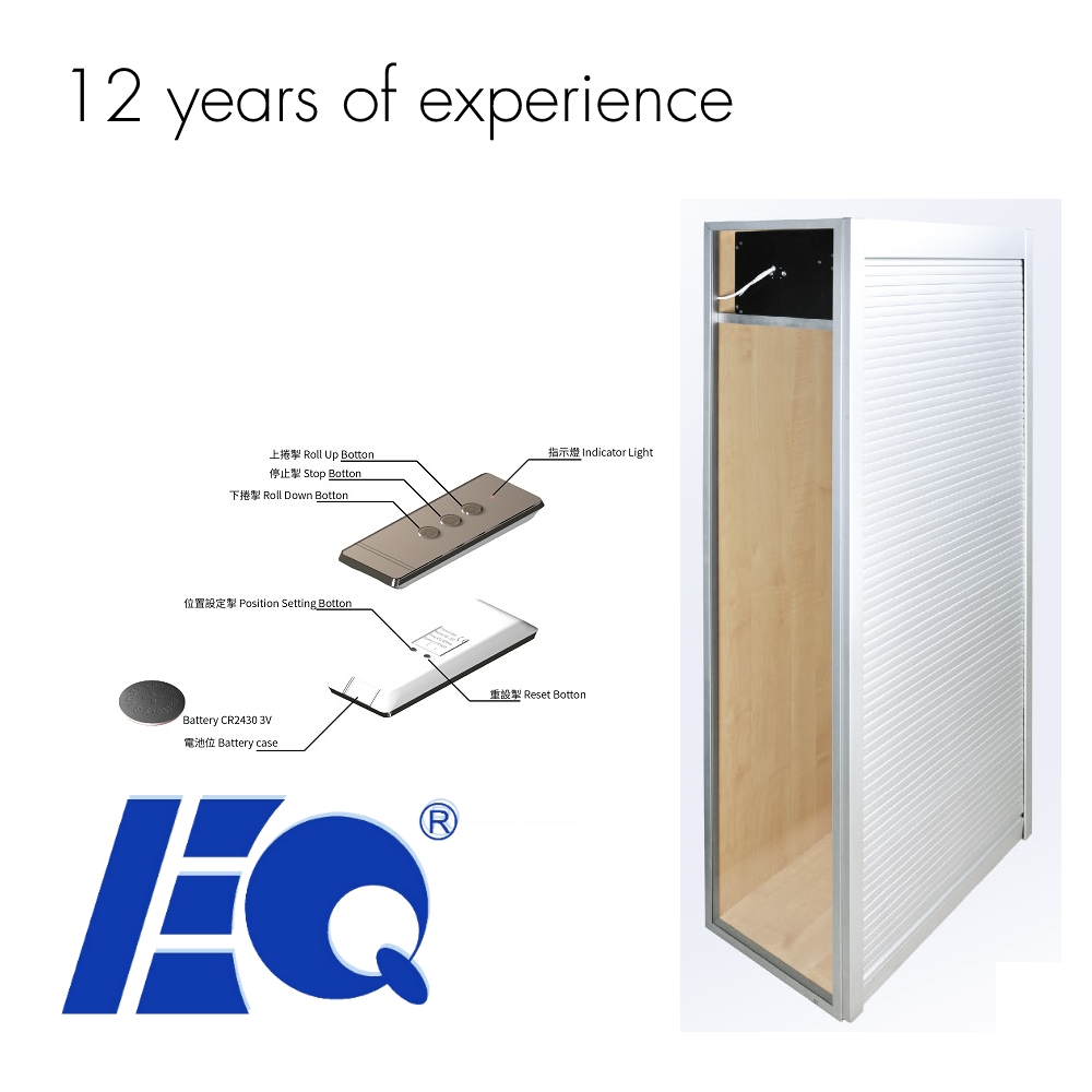 Newest Motorized Aluminum Kitchen Cabinet Electric Rolling Door ...