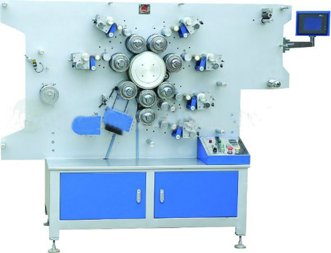 Digital Control Rotary Label Printing Machine