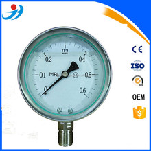 "4""( 100mm) All Stainless Steel Wika Pressure Gauge 0-0.6MPa"