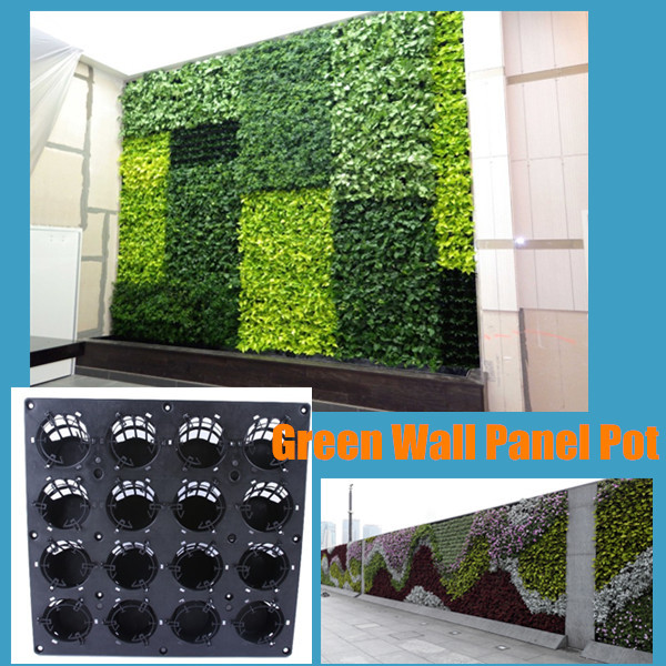 Vertical Hanging Green Wall Garden Planter SL XQ3319 Outdoor Vertical Green  Wall Planter Living Wall