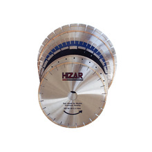 HIZAR 350mm granite marble stone diamond cutting tools circular saw blade