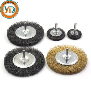Good polishing grinding wheel crimped brass wire drill brush