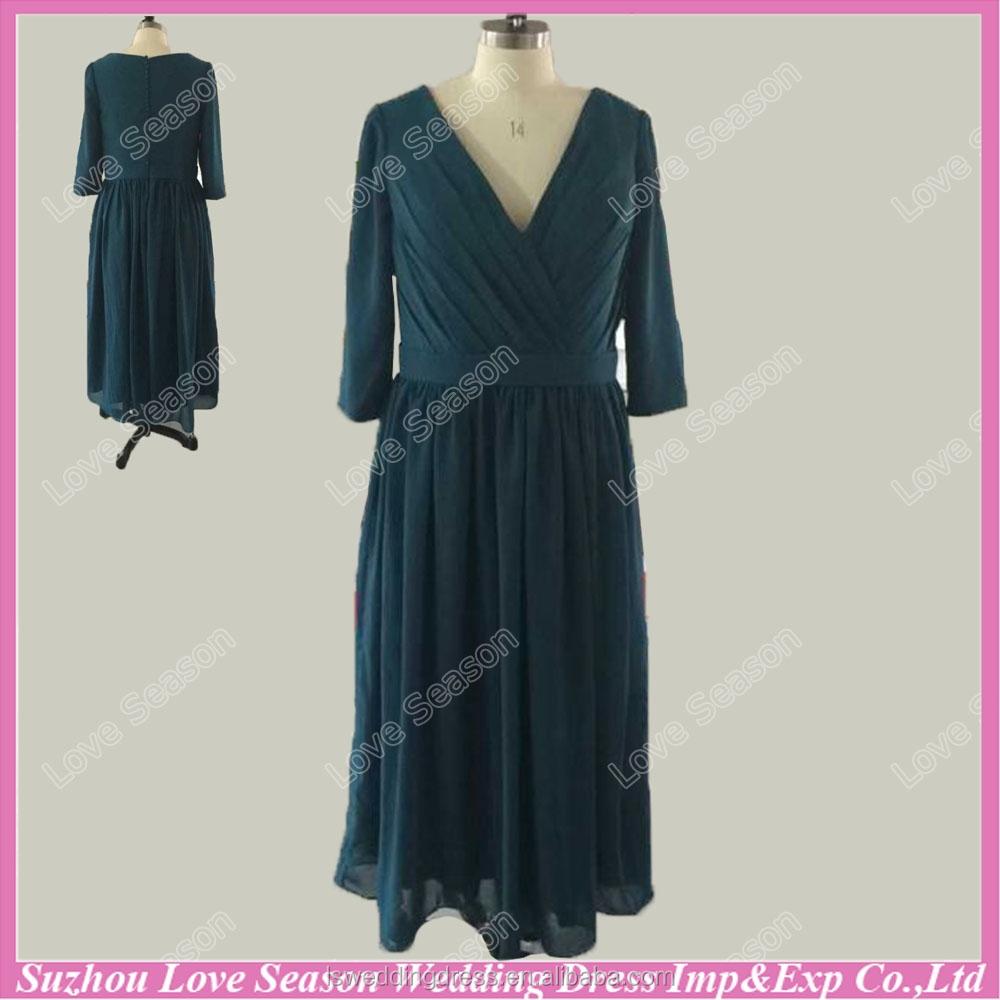 Vestidos de damas de honor verde esmeralda