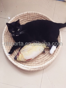 Pet Supplies Round Cat Sleeping Mat Wholesale Photo