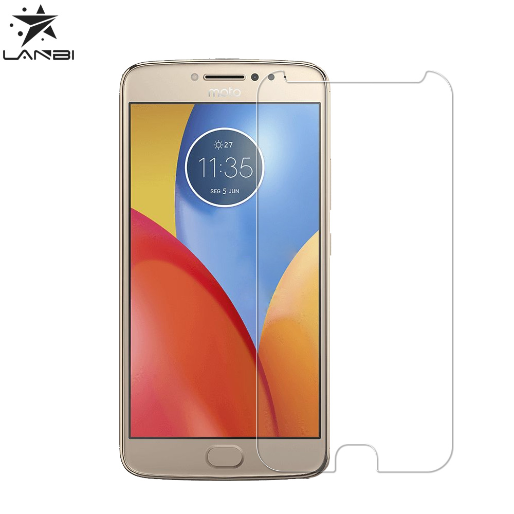 Best selling products 2017 mobile phone accessories tempered glass screen protector for Moto E4 Plus