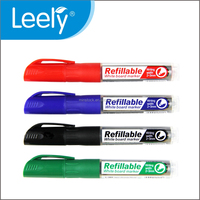 0030D Liquid refill available wet erase whiteboard markers pens
