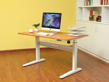 Metal Legs Lifting Tables For Study, Office And Computure, Manual And  Electric Height Adjustable