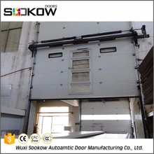 easy to assemble beautiful panel aluminum residential industrial door sectional