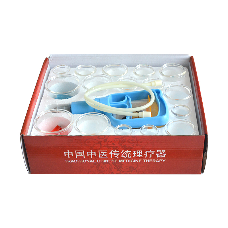 Health & Beauty Hansol Professional Cupping Therapy Equipment Set With Pumping Handle 17 Cups To Assure Years Of Trouble-Free Service Acupuncture