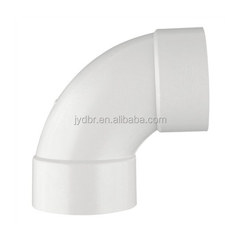 PVC DWV FITTING ASTM D2665 ELBOW