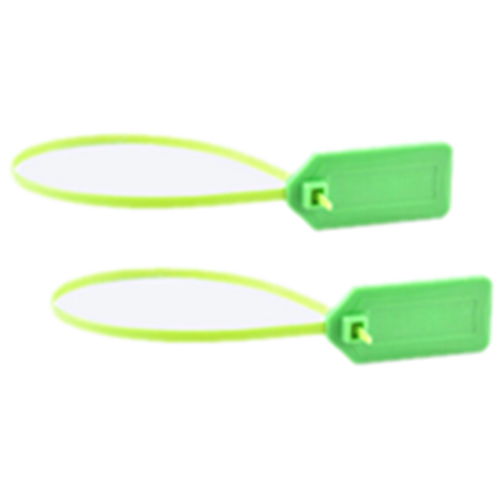 ISO18000-6C Passive Tracking UHF RFID Seal Zip Cable Tie Tag for Container Management with High Performance