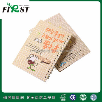 paper cover cheap school exercise notebook
