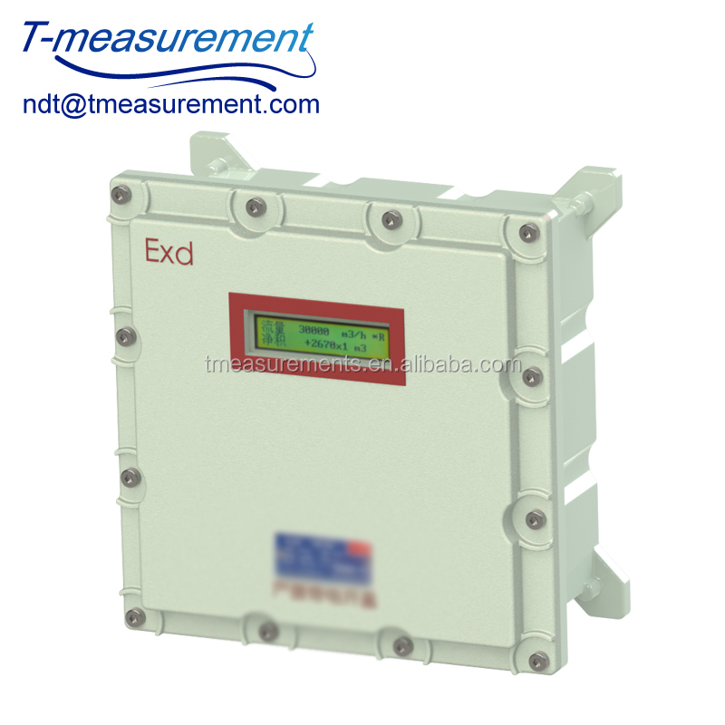 Explosion proof Process Monitoring fixed ultrasonic flow meter