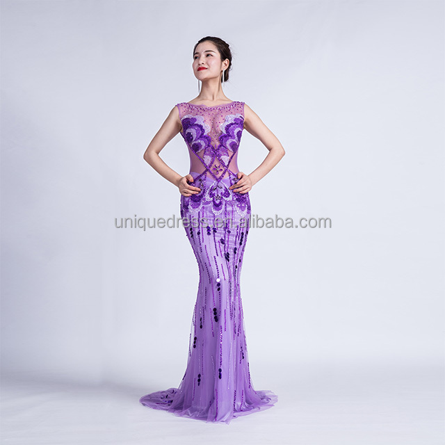 Purple Casual Gown Dress Wholesale, Gown Dresses Suppliers - Alibaba